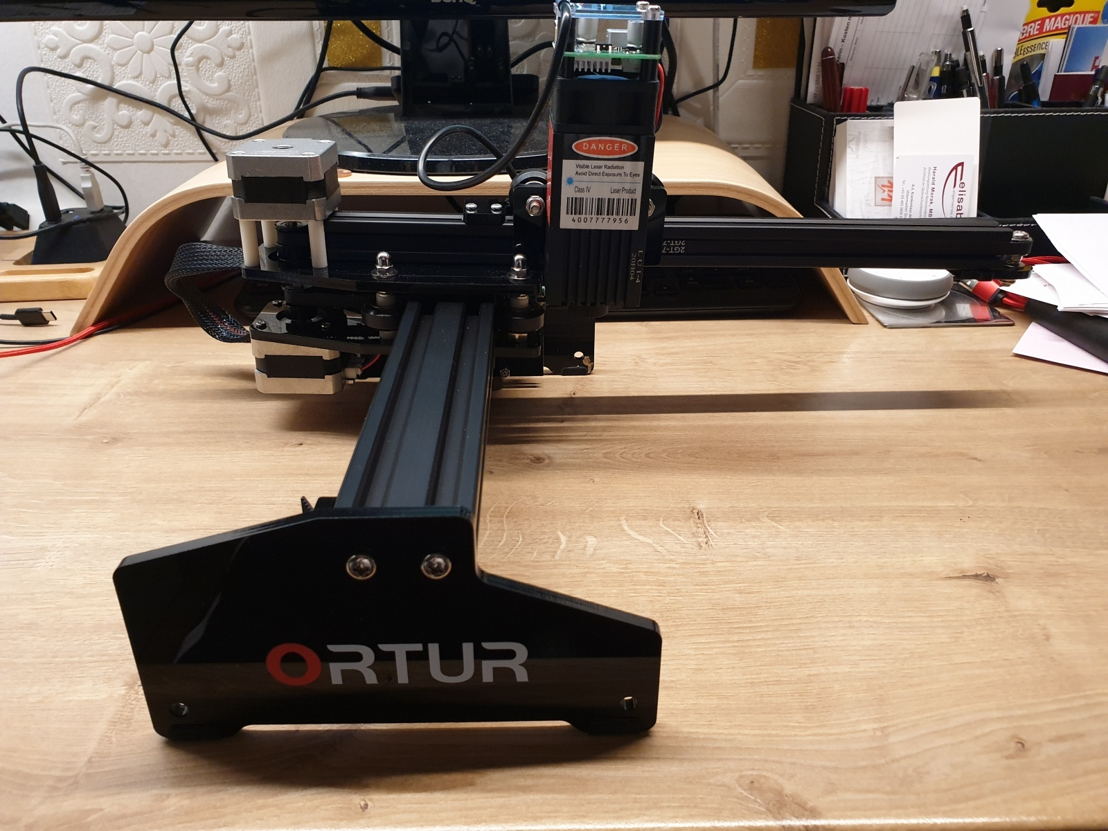 der fertig montierte Ortur LaserMaster 20w Desktop